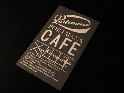 PORTMANS CAFE_c0121933_23542721.jpg