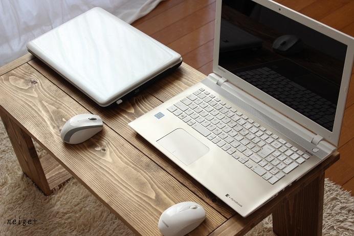 ノートPC新調しました♪リビングにもピッタリなDIYカフェテーブルとついにインフル発症・・・_f0023333_20443596.jpg