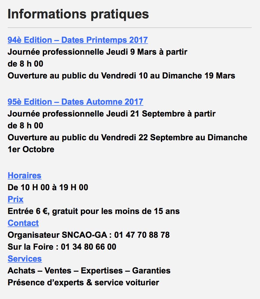 Foire de chatou vol 3 ing - Foire de chatou 2017 ...