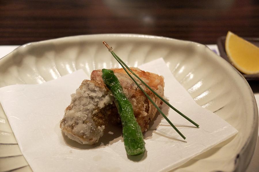 Uさんの大台の誕生日会のお料理、<四谷ふく>にて_a0031363_4304745.jpg