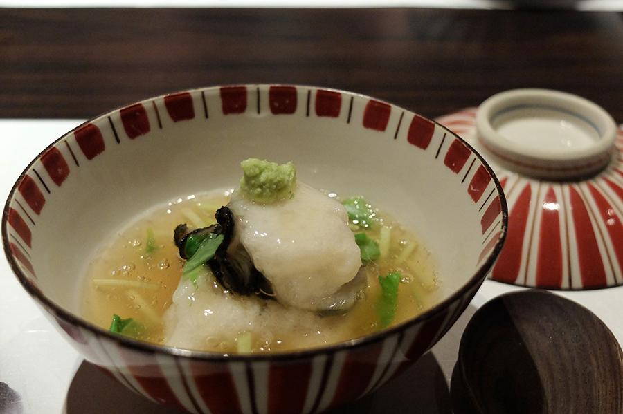 Uさんの大台の誕生日会のお料理、<四谷ふく>にて_a0031363_4322635.jpg