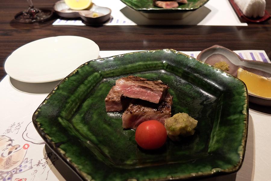 Uさんの大台の誕生日会のお料理、<四谷ふく>にて_a0031363_4332580.jpg