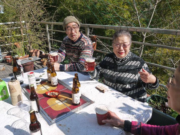 北鎌倉の恵みで乾杯!ねぎまの炭火焼きで新年会1・29_c0014967_1002358.jpg