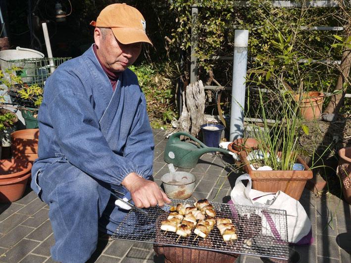北鎌倉の恵みで乾杯!ねぎまの炭火焼きで新年会1・29_c0014967_1003914.jpg
