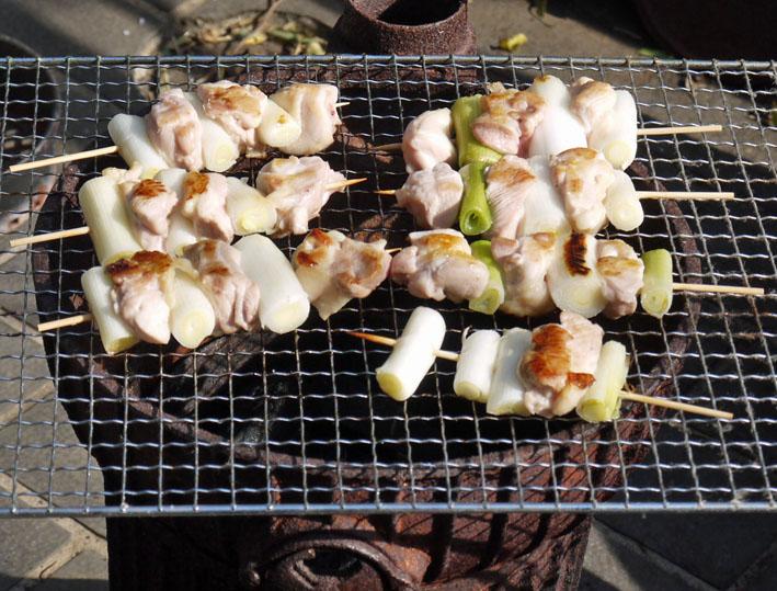 北鎌倉の恵みで乾杯!ねぎまの炭火焼きで新年会1・29_c0014967_1015461.jpg