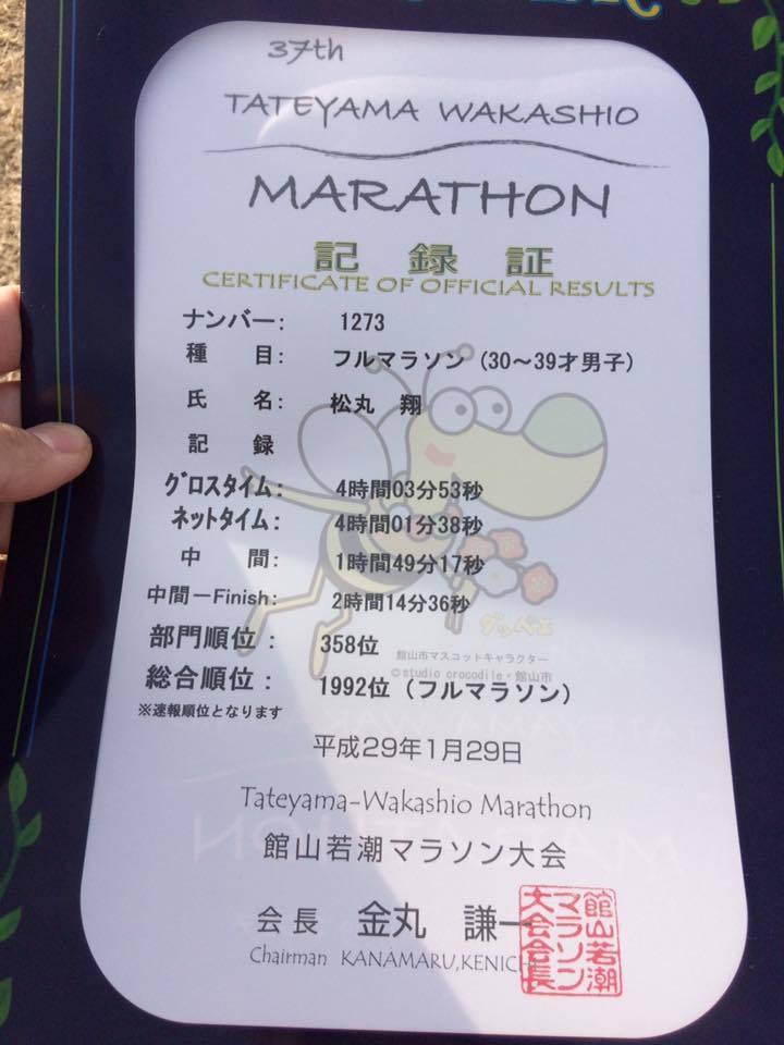 フルマラソン完走_d0157671_12432558.jpg