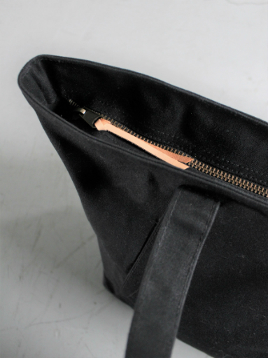 FUJITO Tote Bag / Black_b0139281_16395553.jpg
