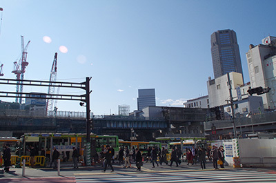 1月30日(月)今日の渋谷109前交差点_b0056983_13572813.jpg