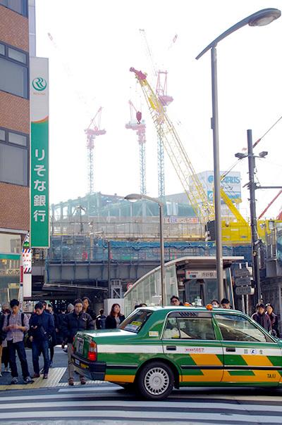 1月30日(月)今日の渋谷109前交差点_b0056983_13572891.jpg