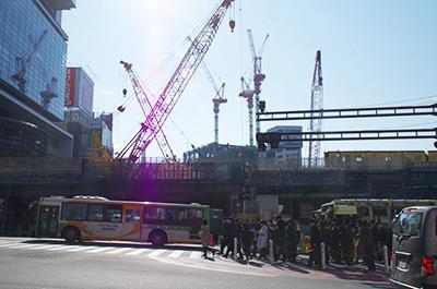 1月30日(月)今日の渋谷109前交差点_b0056983_13572893.jpg