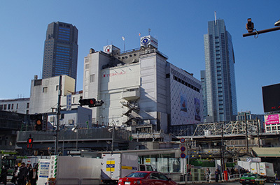 1月30日(月)今日の渋谷109前交差点_b0056983_13572940.jpg