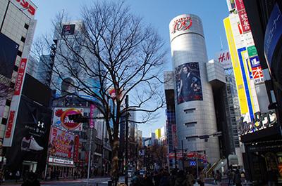 1月30日(月)今日の渋谷109前交差点_b0056983_13572989.jpg