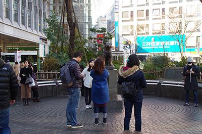 1月30日(月)今日の渋谷109前交差点_b0056983_13573002.jpg