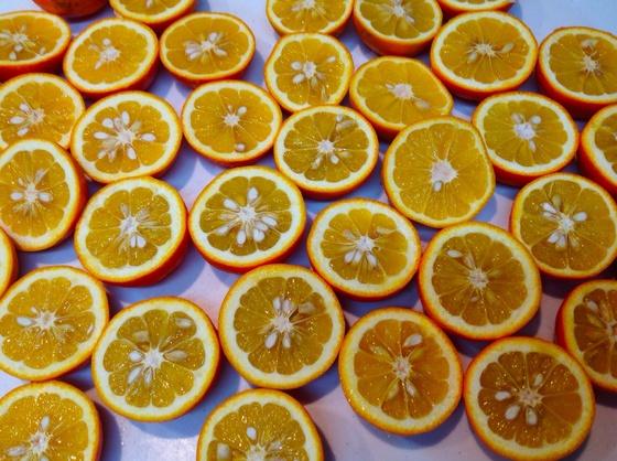 橙でブリのカルパッチョ_a0258686_418674.jpg