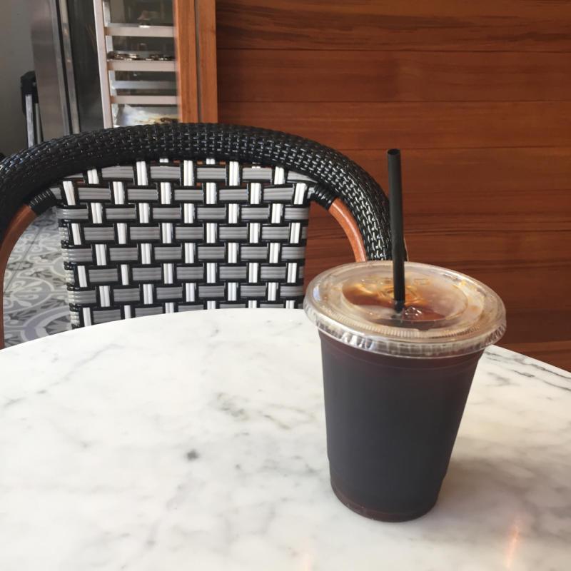 16年11月ハワイ 15★ワイキキでコナコーヒー@Kona Coffee Purveyors_d0285416_19280213.jpg