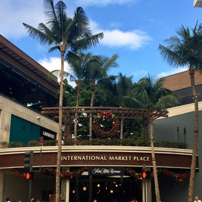 16年11月ハワイ 15★ワイキキでコナコーヒー@Kona Coffee Purveyors_d0285416_19280280.jpg