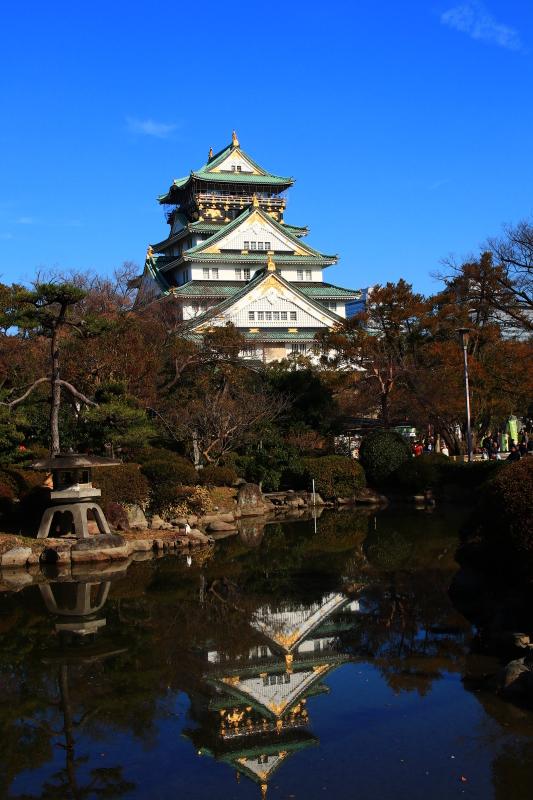 逆さ大阪城と金の船 (旅行・お出かけ部門)_f0209122_19065722.jpg