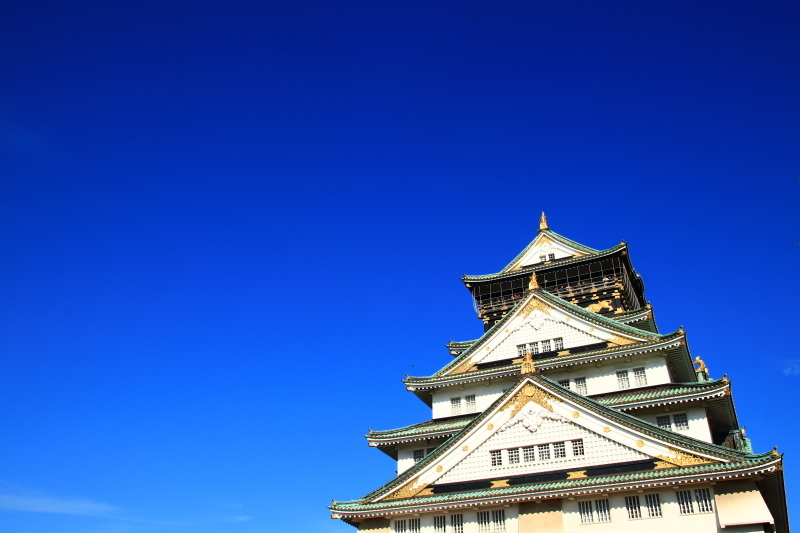 逆さ大阪城と金の船 (旅行・お出かけ部門)_f0209122_19092243.jpg