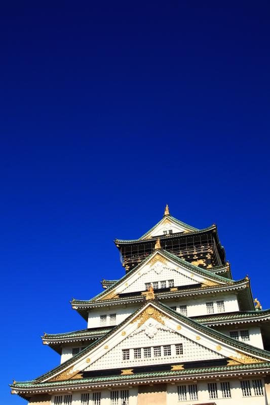 逆さ大阪城と金の船 (旅行・お出かけ部門)_f0209122_19095860.jpg