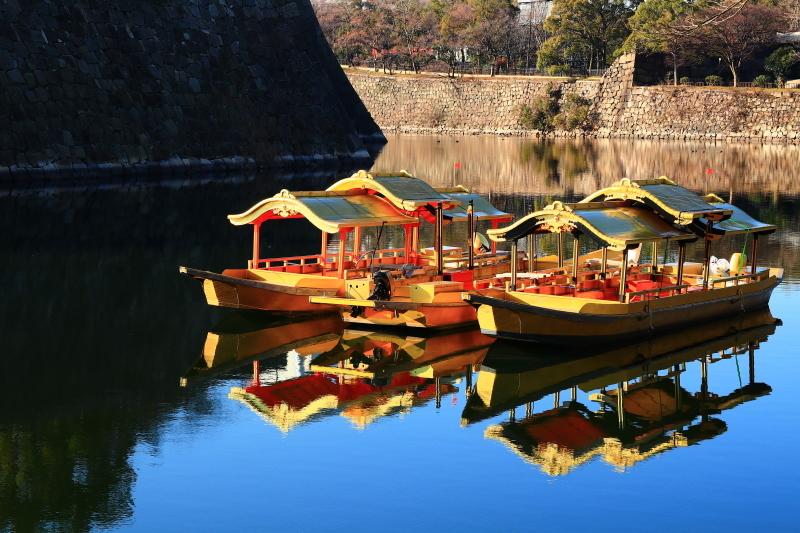 逆さ大阪城と金の船 (旅行・お出かけ部門)_f0209122_19113403.jpg