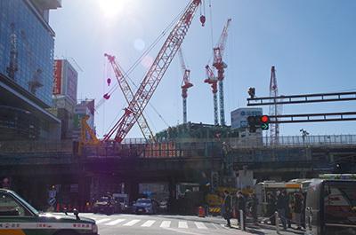 1月31日(火)今日の渋谷109前交差点_b0056983_11551309.jpg