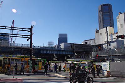 1月31日(火)今日の渋谷109前交差点_b0056983_11551368.jpg