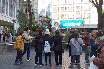 1月31日(火)今日の渋谷109前交差点_b0056983_11551473.jpg