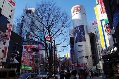 1月31日(火)今日の渋谷109前交差点_b0056983_11551512.jpg