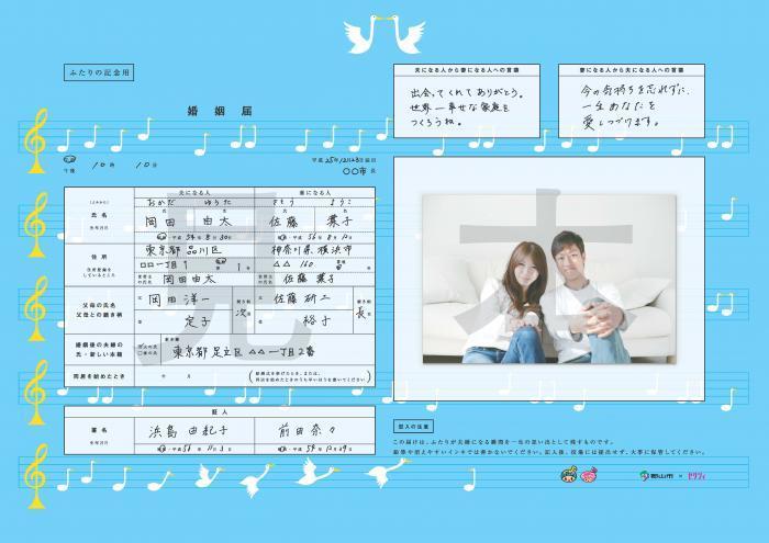 入籍と結婚式_e0120789_23161559.jpg