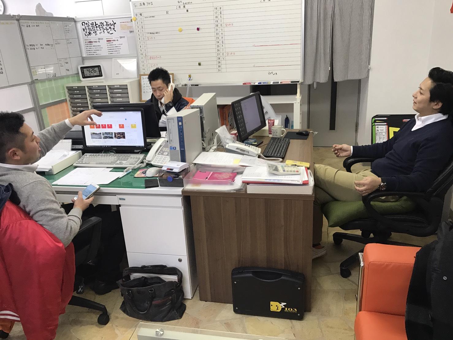 2月1日 水曜日のひとログ(。・ω・。) ランクル200ディーゼル横浜港到着♫_b0127002_17534597.jpg