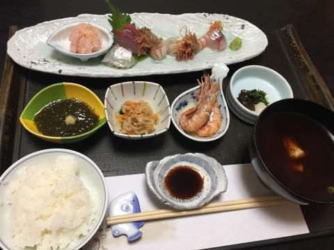 句魚たつみ 夜 刺身御膳_e0115904_14161462.jpg