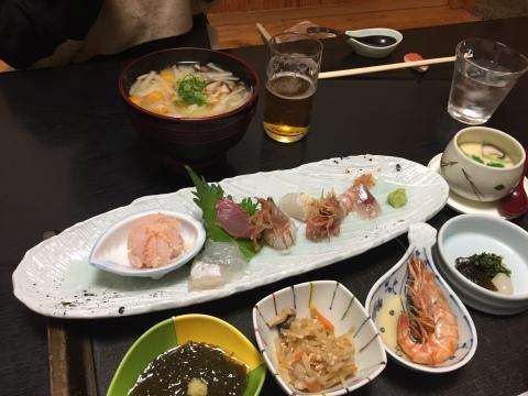 句魚たつみ 夜 刺身御膳_e0115904_14362323.jpg