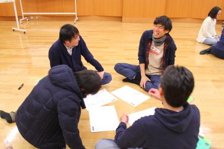 【青学WSD】新井英夫さんのワークショップ体験_a0197628_10331399.jpg