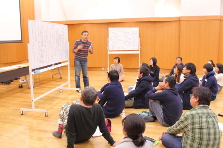 【青学WSD】新井英夫さんのワークショップ体験_a0197628_10341429.jpg