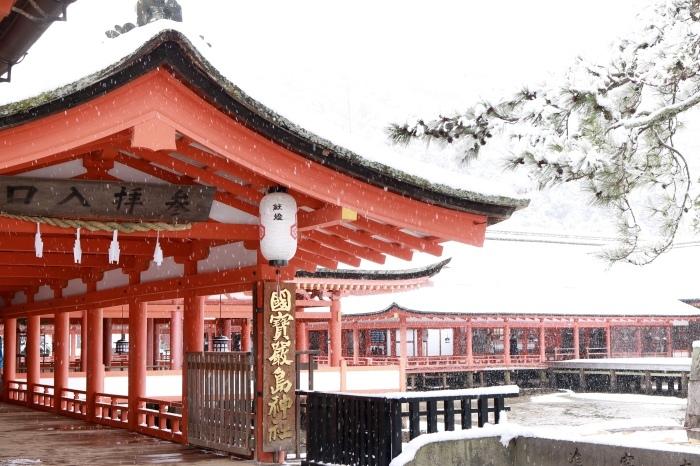 雪の宮島 広島旅行 - 11 -_f0348831_22563086.jpg