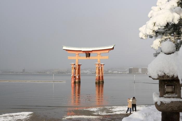 雪の宮島 広島旅行 - 11 -_f0348831_22564905.jpg