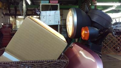トゥデイ ヘッドライト修理_e0114857_20131243.jpg