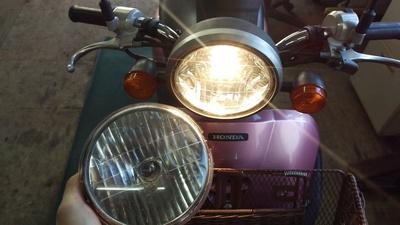 トゥデイ ヘッドライト修理_e0114857_20133536.jpg