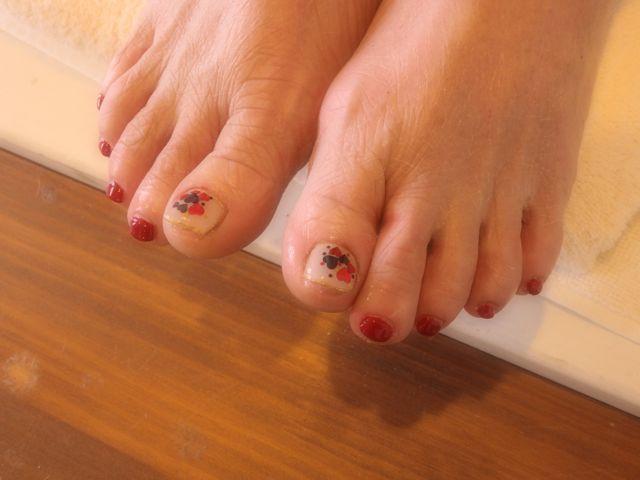 Red Foot Nail_a0239065_17180168.jpg