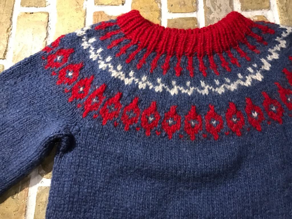 神戸店2/4(土)スーペリア、プチモダンミリタリー入荷!#2  Superior Knit Item & Mexican Blanket!!!_c0078587_2037327.jpg