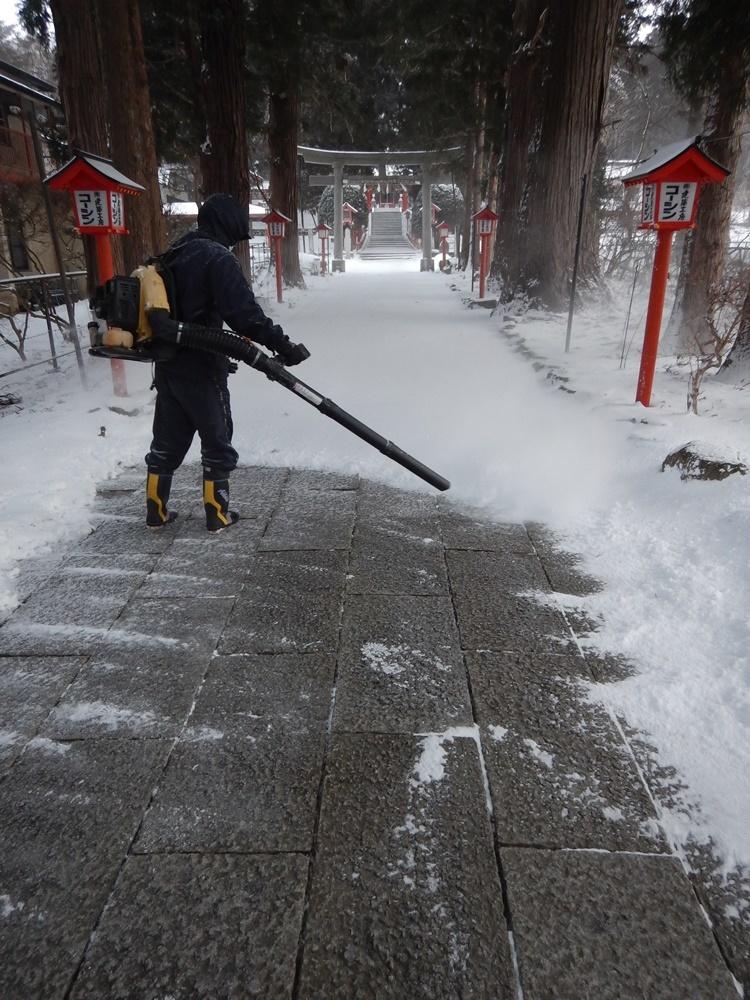 早朝除雪から_c0111229_21034209.jpg