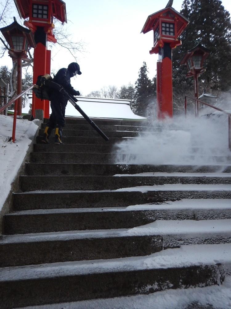 早朝除雪から_c0111229_21035295.jpg