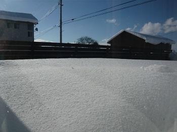 雪~♪_c0369433_17040344.jpg