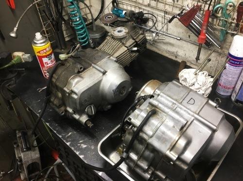フジタカブエンジン載せ替え!_a0164918_20125212.jpg