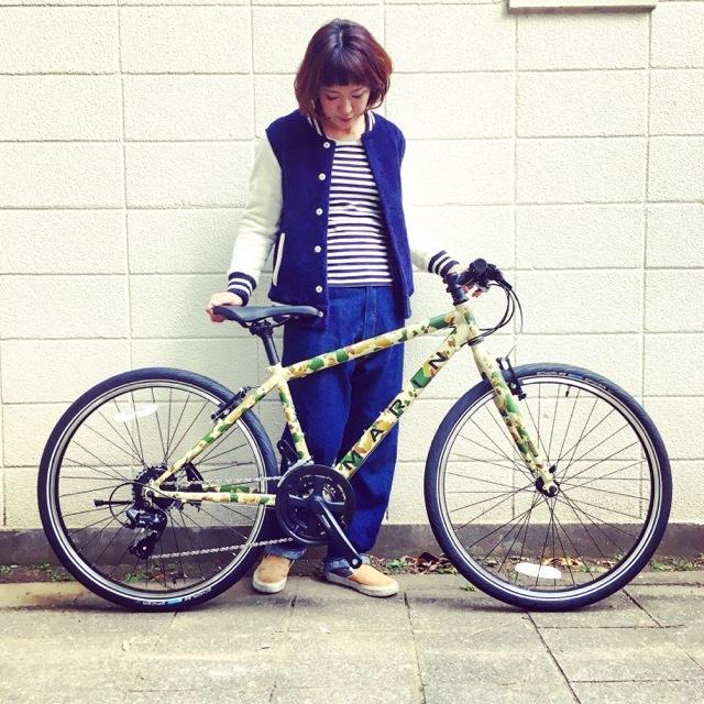 2017 MARINマリン 限定カラー ミュアウッズse おしゃれ自転車 オシャレ自転車 自転車女子 自転車ガール クロスバイク_b0212032_17152506.jpg