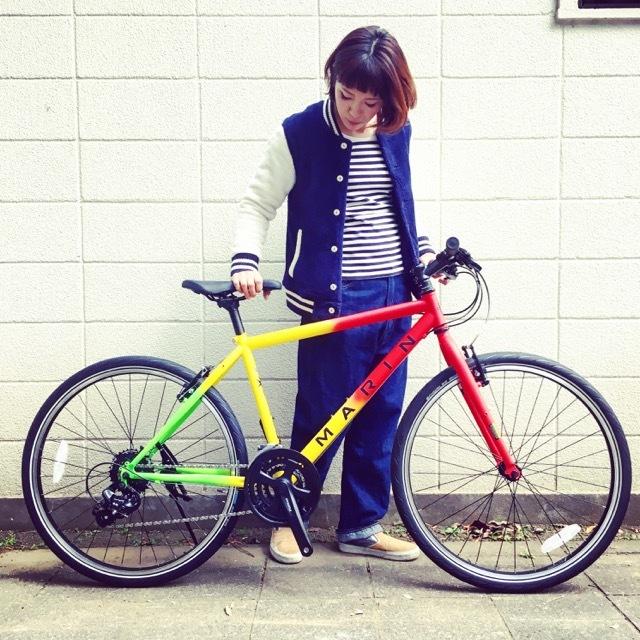 2017 MARINマリン 限定カラー ミュアウッズse おしゃれ自転車 オシャレ自転車 自転車女子 自転車ガール クロスバイク_b0212032_17160032.jpg
