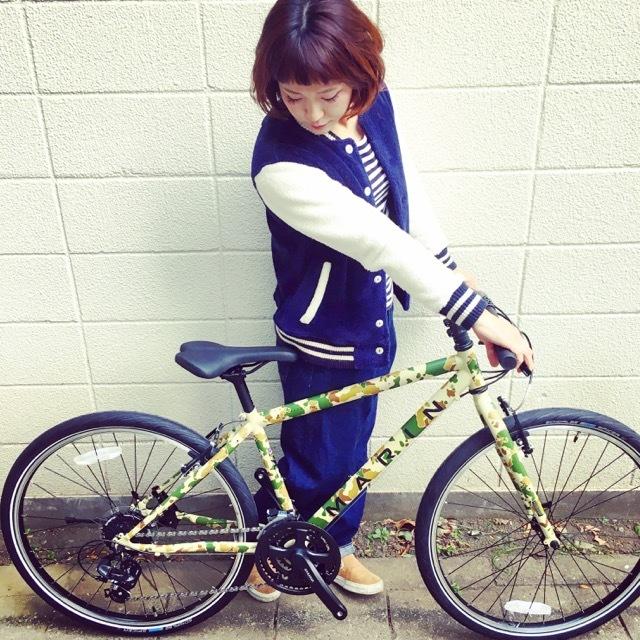 2017 MARINマリン 限定カラー ミュアウッズse おしゃれ自転車 オシャレ自転車 自転車女子 自転車ガール クロスバイク_b0212032_17164045.jpg