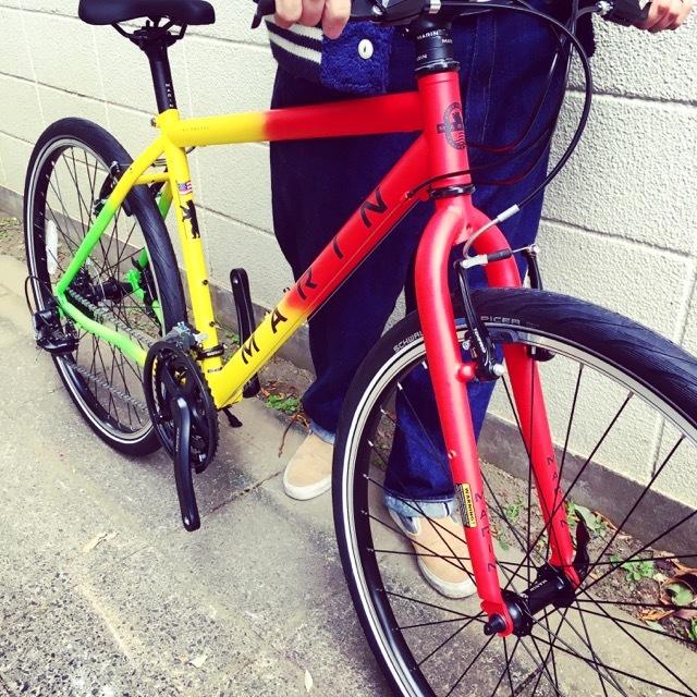 2017 MARINマリン 限定カラー ミュアウッズse おしゃれ自転車 オシャレ自転車 自転車女子 自転車ガール クロスバイク_b0212032_17184040.jpg