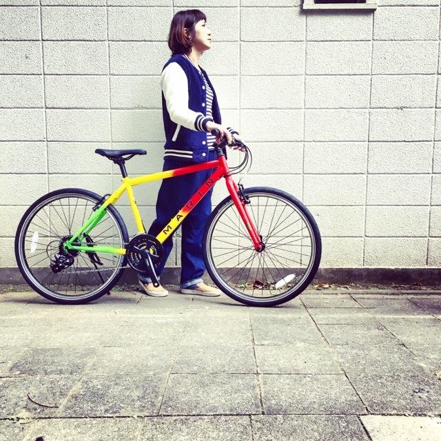 2017 MARINマリン 限定カラー ミュアウッズse おしゃれ自転車 オシャレ自転車 自転車女子 自転車ガール クロスバイク_b0212032_17192438.jpg