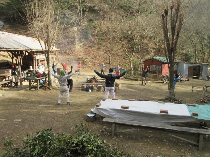 里山活動&岬高・植樹看板立て  by  (ナベサダ)_f0053885_19293854.jpg